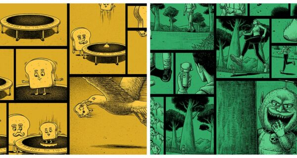 Пугающие комиксы с жуткими концовками от тайваньского художника