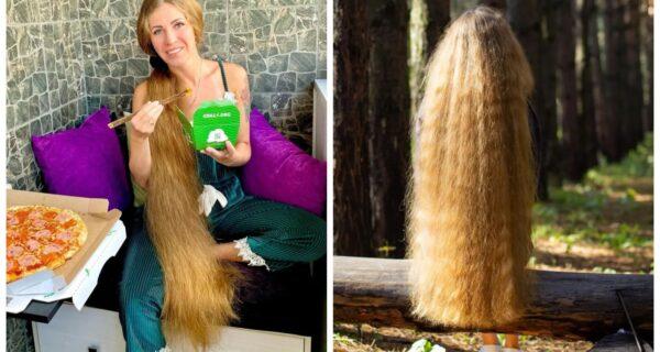 Коса моя — краса моя: россиянка с невероятно длинными волосами стала звездой соцсетей