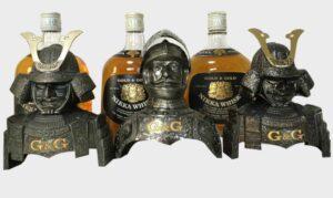 Nikka G & G Armor Knight Samurai Asuhara Set 3 бутылки