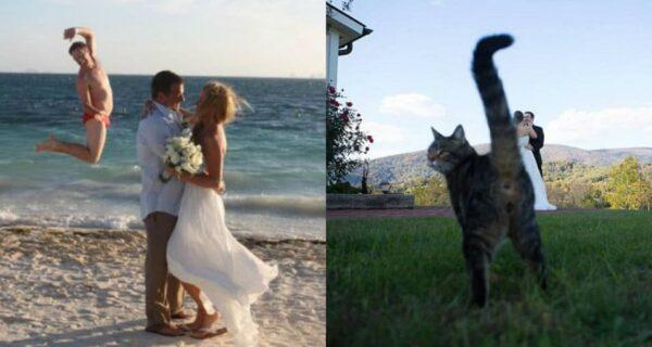 Нарочно не придумаешь: худшие свадебные фото, которые точно не покажут гостям